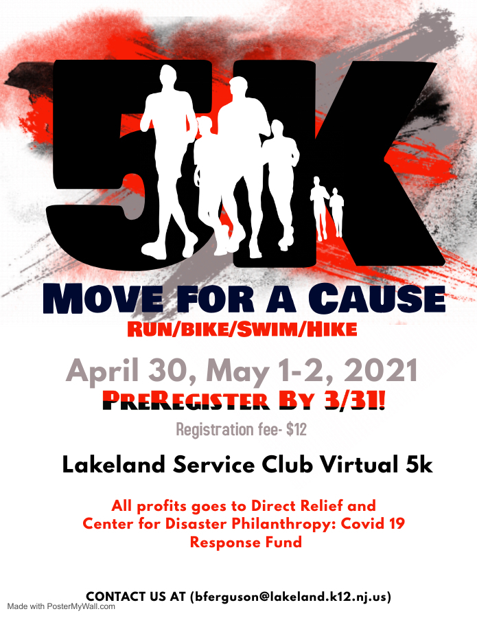 Service Club: Move for a Cause!