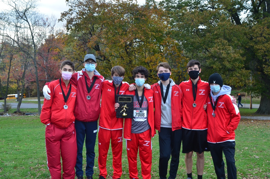 Lakeland Boys' Cross Country Team - Second Place in the Lou Fraulo Invitational
