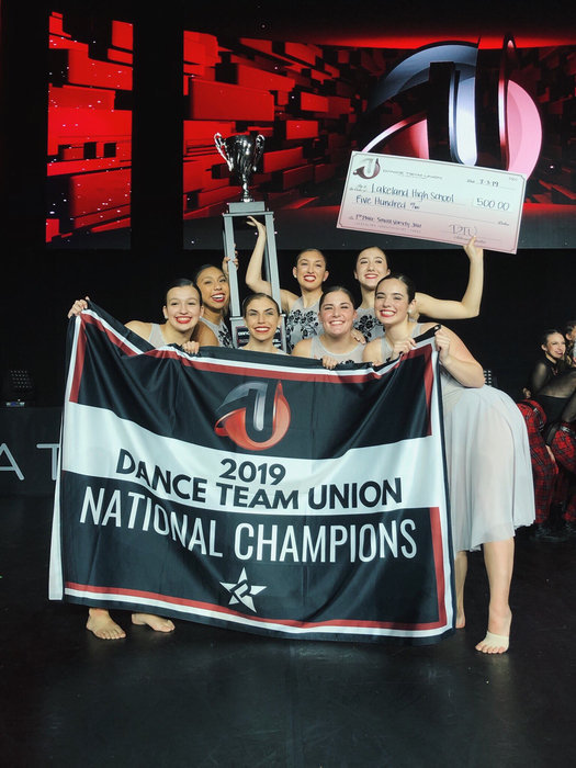 National Champ Dance Team!!