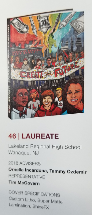 2018 yearbook cover