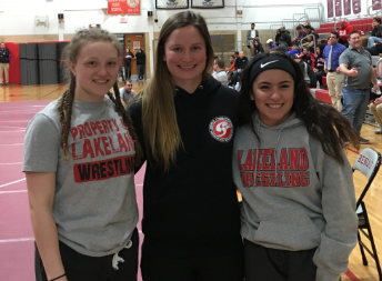 Girls varsity wrestling