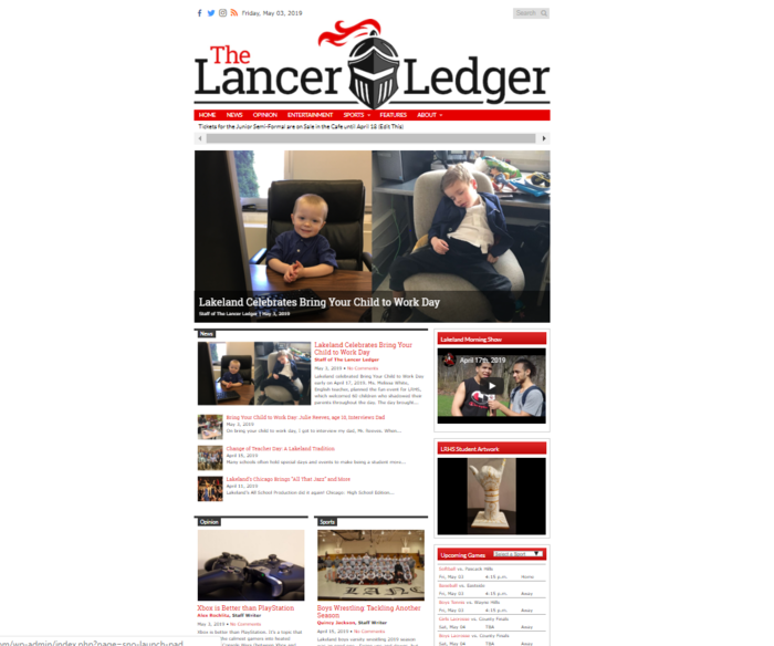 Ledger Home Page