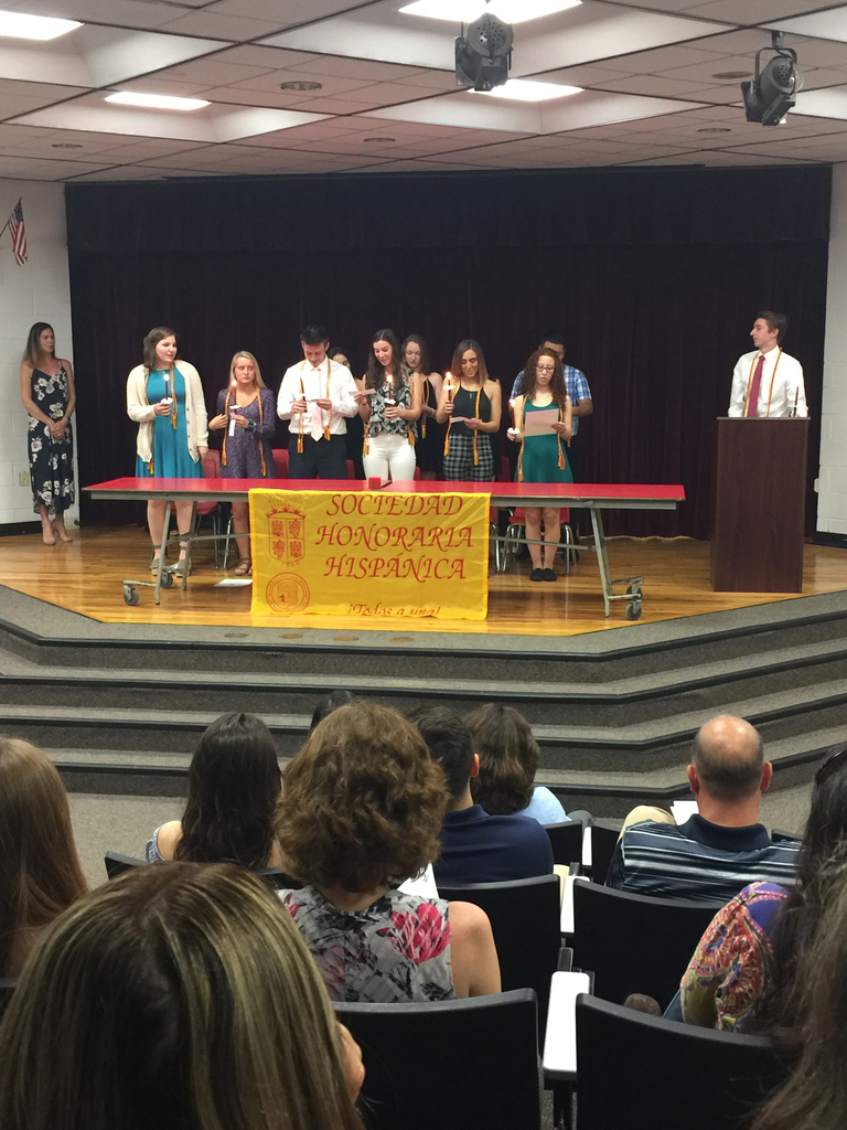 Spanish Honor Society Induction Ceremony 2019