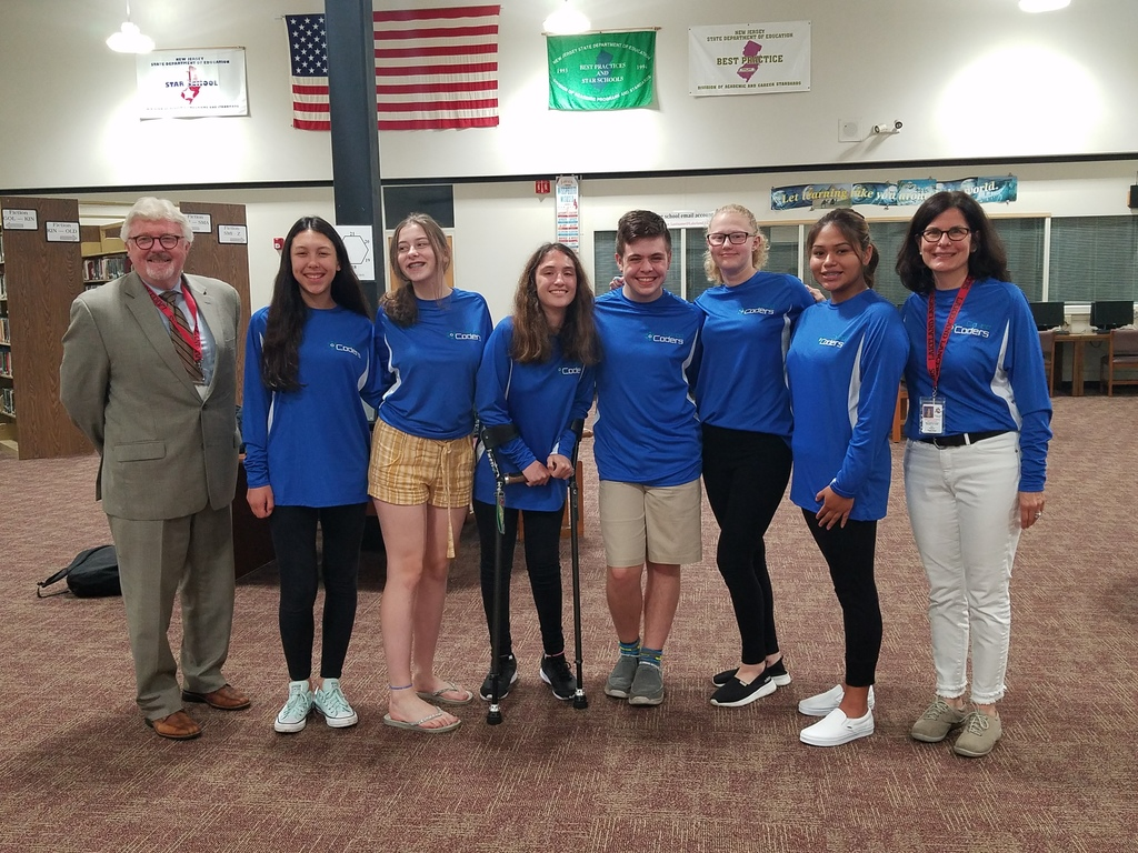 Lakeland Co-Ed Coders and Girls Who Code - Recognition at the June 18th BOE Meeting