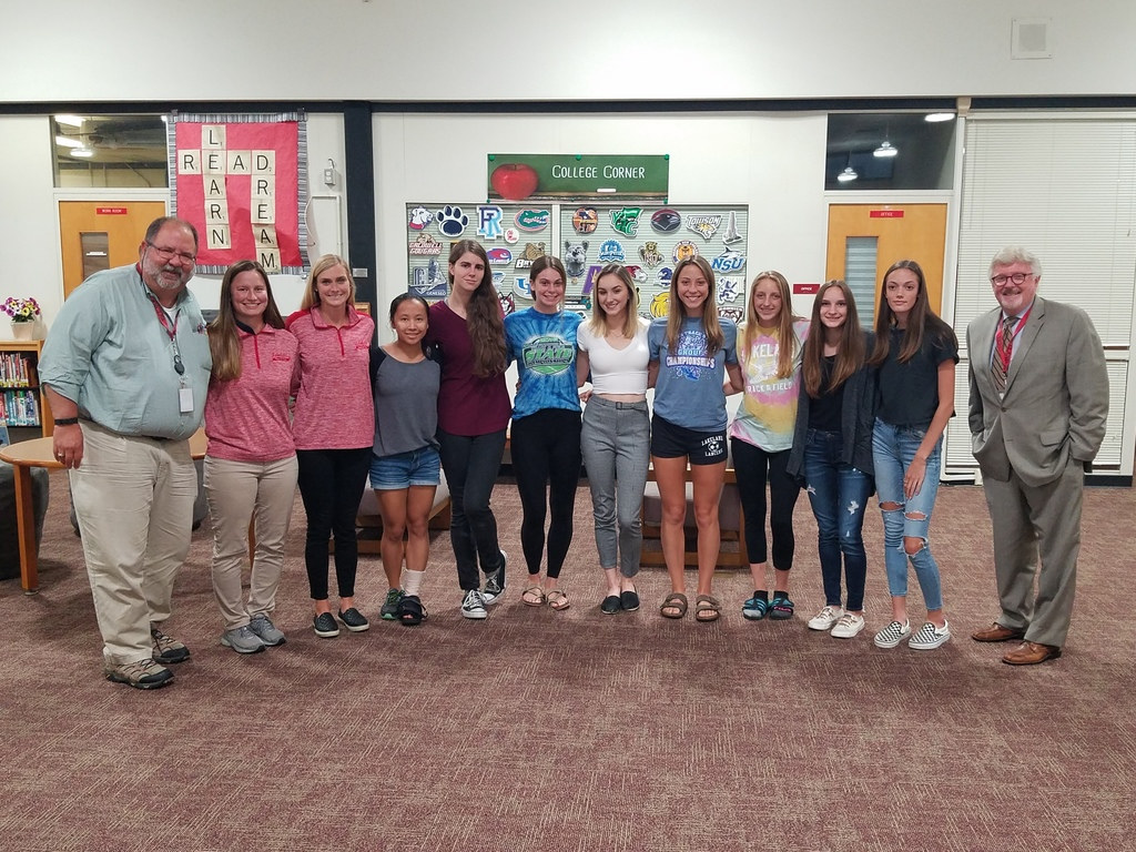 Girls' Track Team - honored by BOE