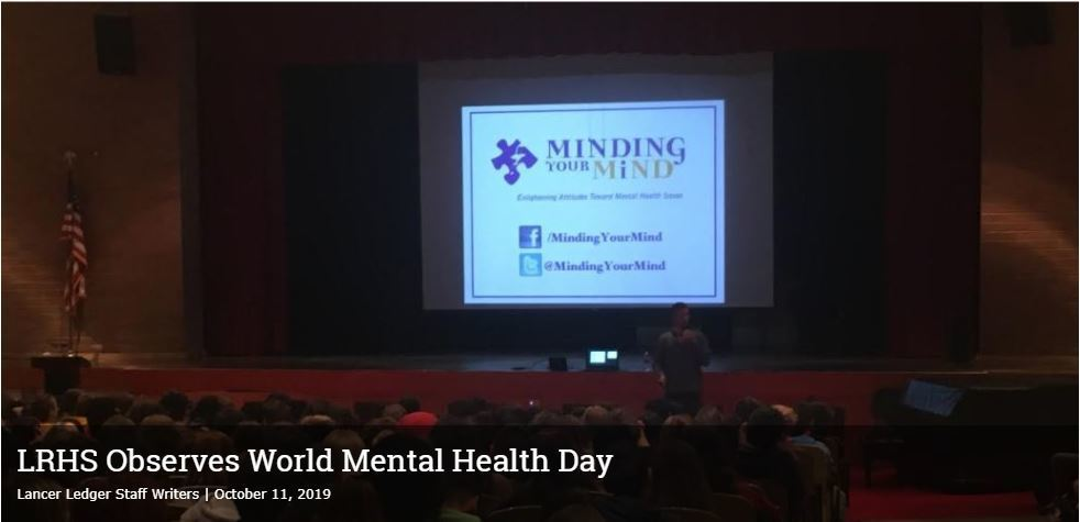 World Mental Health Day Article