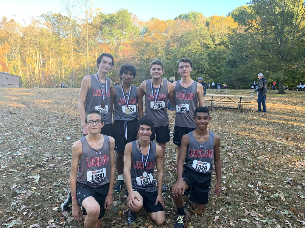Congratulations to the Lakeland Boys' Cross Country Team for winning their first Conference Championship in 21 years. A great job by all the runners.
