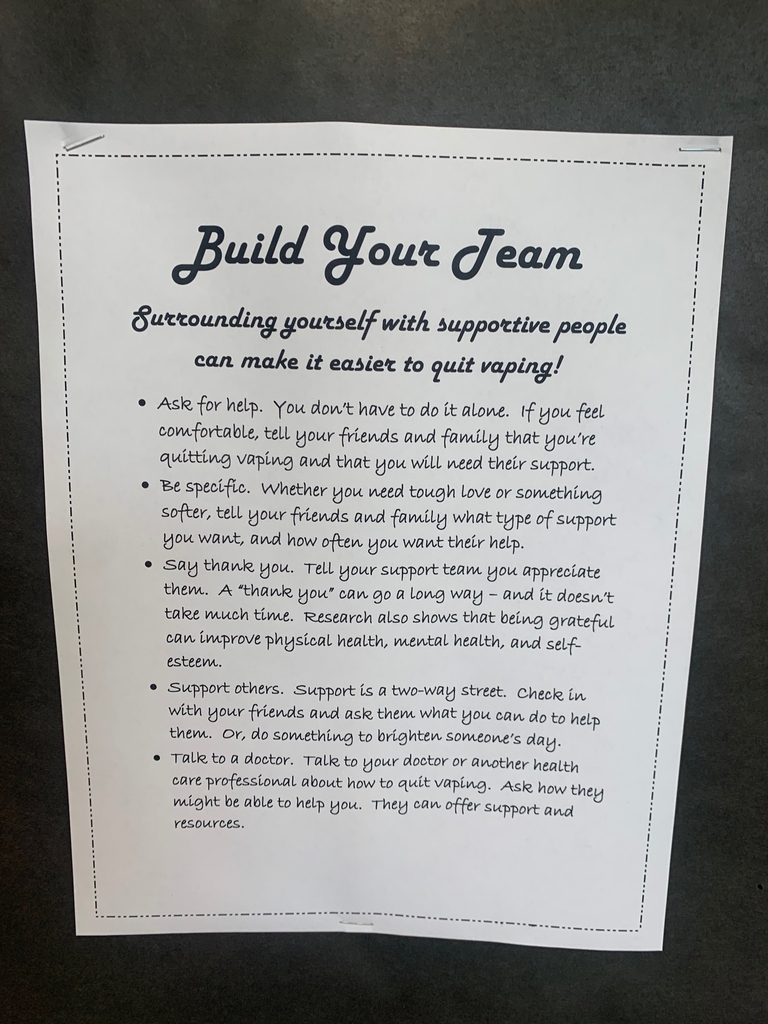Build your team!