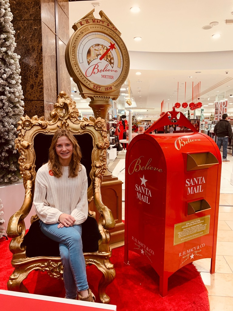 Hannah Devliering Letters for Make a Wish December 2019