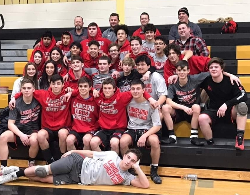 Congratulations to the wrestling team on finishing the regular season with a school record 24 wins!