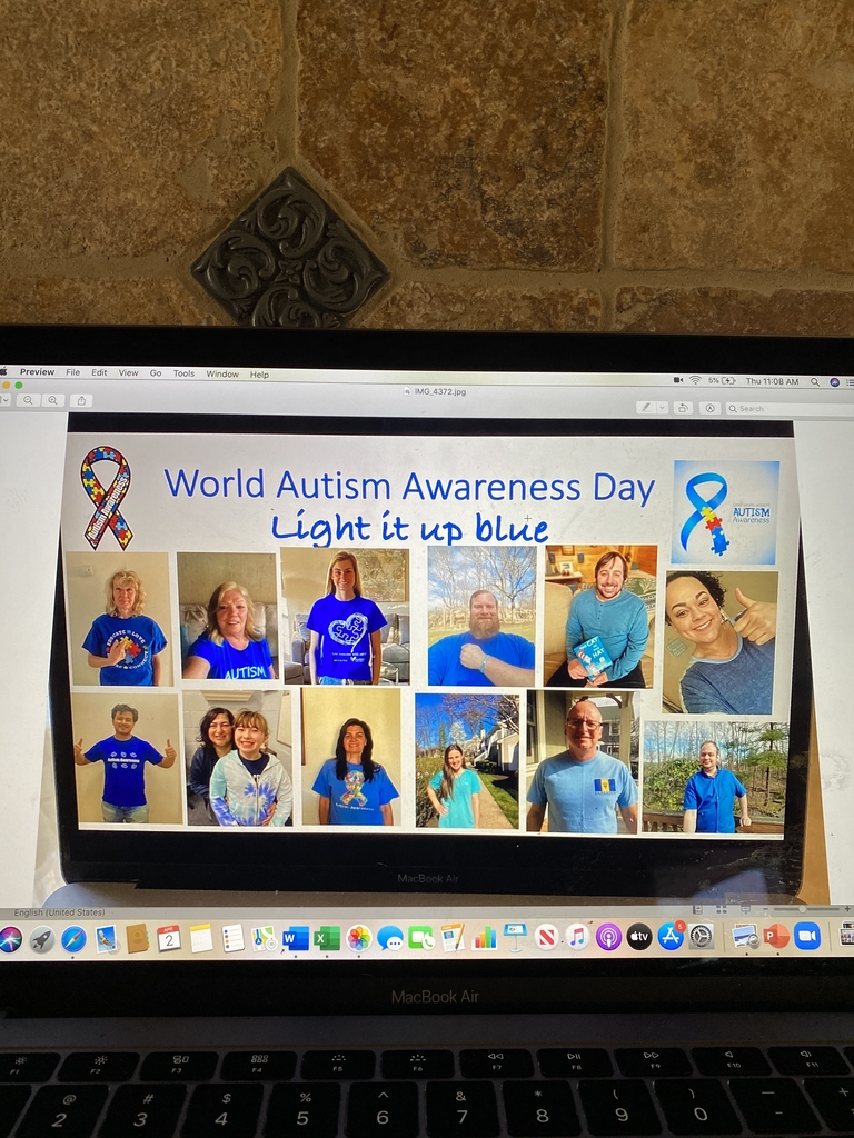 World Autism Awareness Day! Light it up blue!