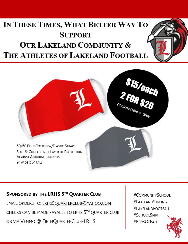 In these troubled times, let us all support our community school and Lancer athletes